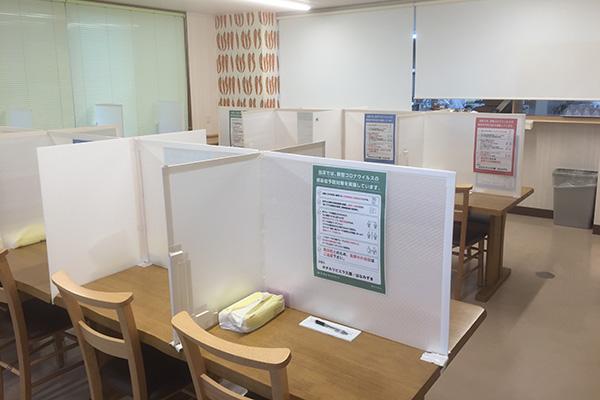 学校寮ホテルリビエラ久慈 食堂