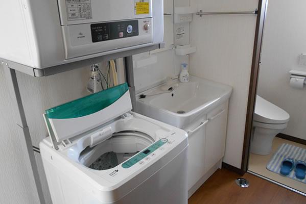 洗濯機・洗面所