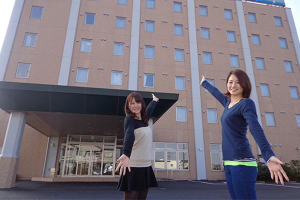 スマイルホテル 外観